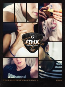 "[PRE-ORDER] FTISLAND - 6th Anniversary Mini Album ""Thanks To"" (CD+DVD)"