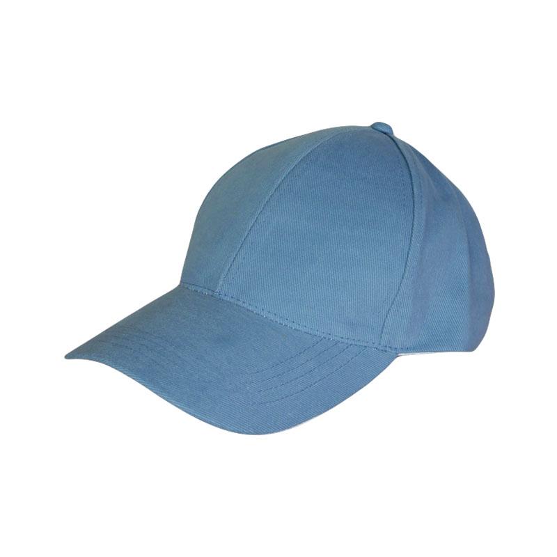 หมวกแก๊ปเปล่า สีพื้น สีฟ้ายีน by Season Tales