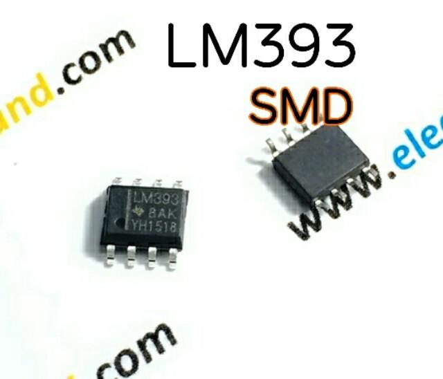 LM393 SOP8 Analog Comparators-SMD