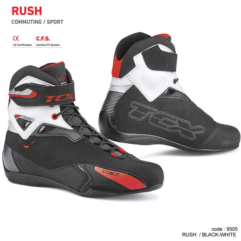 TCX RUSH BLACK - WHITE