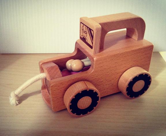 ของเล่นไม้ รถไม้