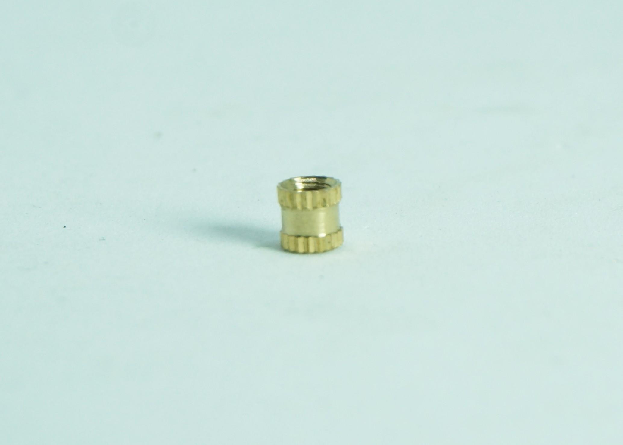 M3x4x4mm copper insert nuts
