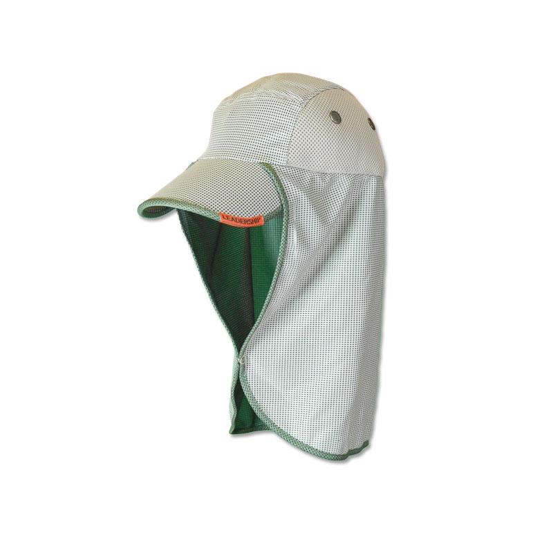 หมวกตกปลา หมวกเดินป่า หมวกแก๊ปปิดคอ ยาวพิเศษ แอนตี้แบคทีเรีย (สีกากี) by Season Tales