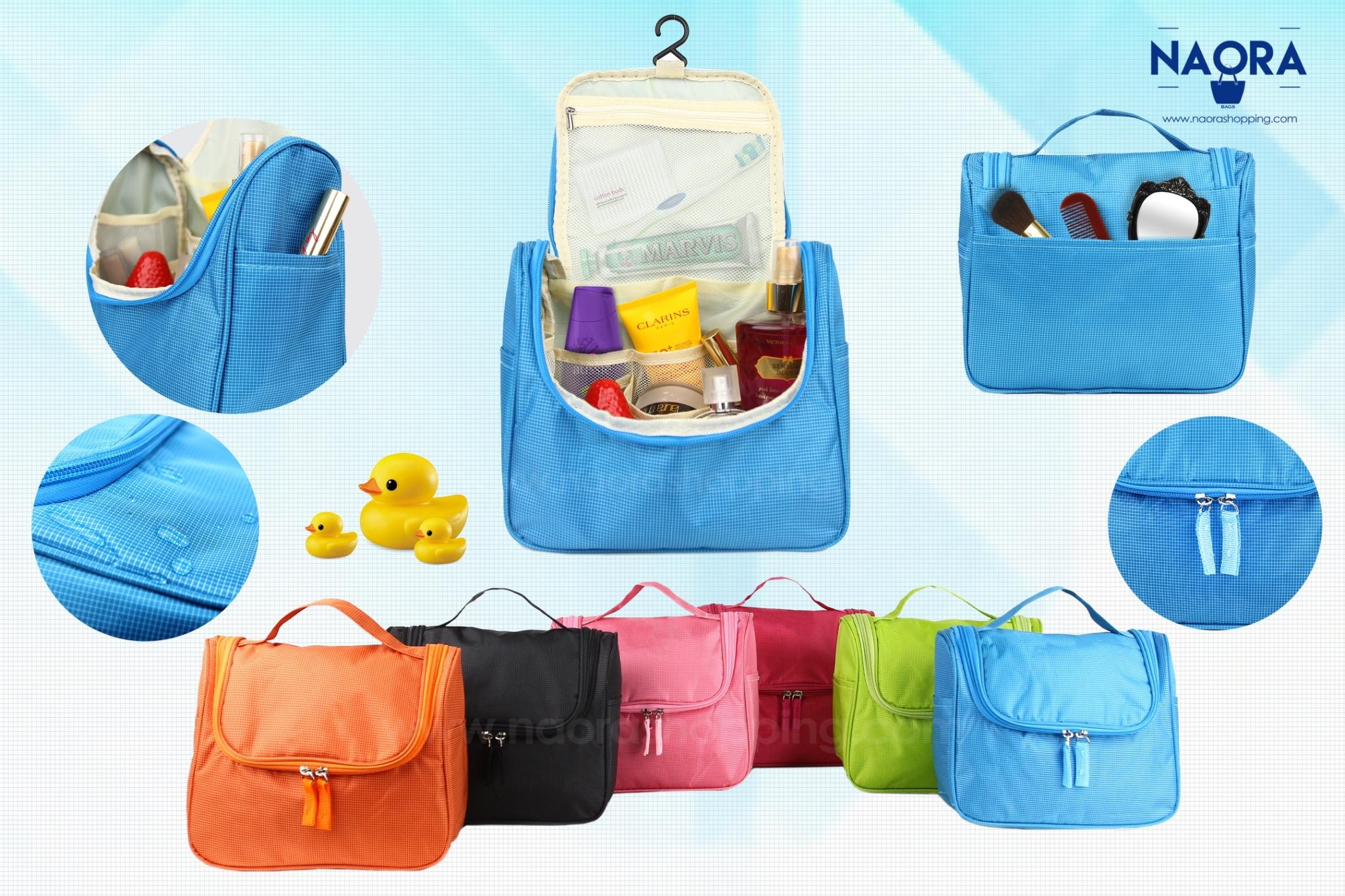 กระเป๋าจัดระเบียบอุปกรณ์อาบน้ำ