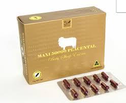 รกแกะแม็กซี่ พลาเซ็นต้า Maxi 50000 Placenta ราคาถูก ขายปลีกส่ง