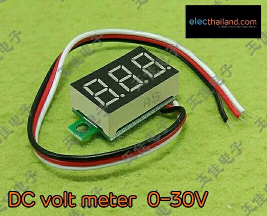 M176:Voltage Meter DC 0V-30V