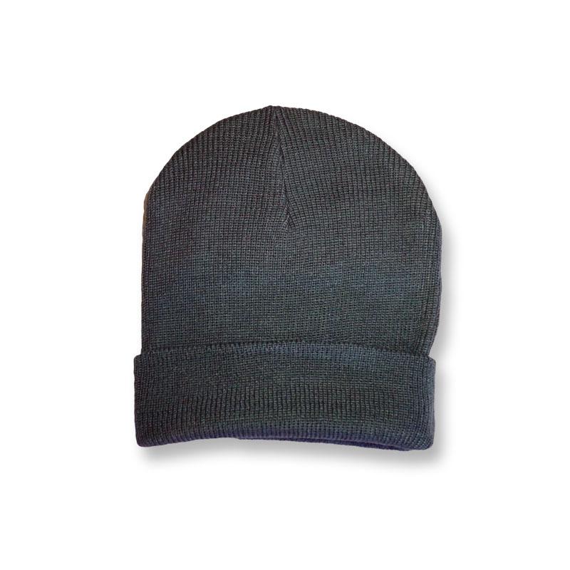 หมวกไหมพรม สไตล์เกาหลี สีเทา