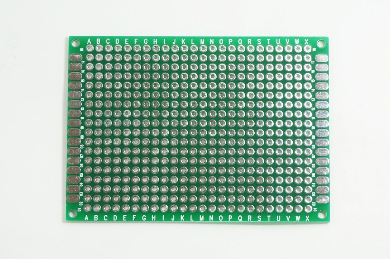 แผ่น PCB อเนกประสงค์ สองหน้า 5x7cm