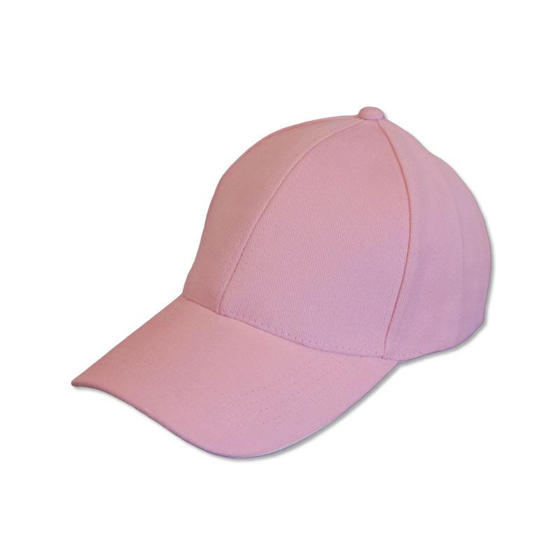หมวกแก๊ปเปล่า สีพื้น สีชมพูอ่อน by Season Tales