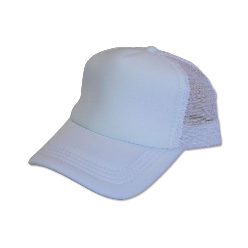 หมวกแก๊ปตาข่าย สีขาว by Season Tales