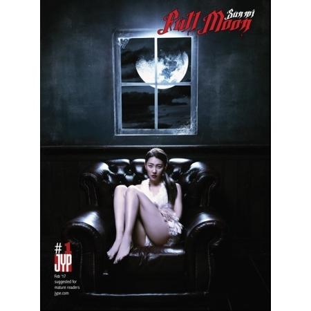 """[PRE-ORDER] 선미 (SUNMI) - 1st Mini Album """"FULL MOON"""""""