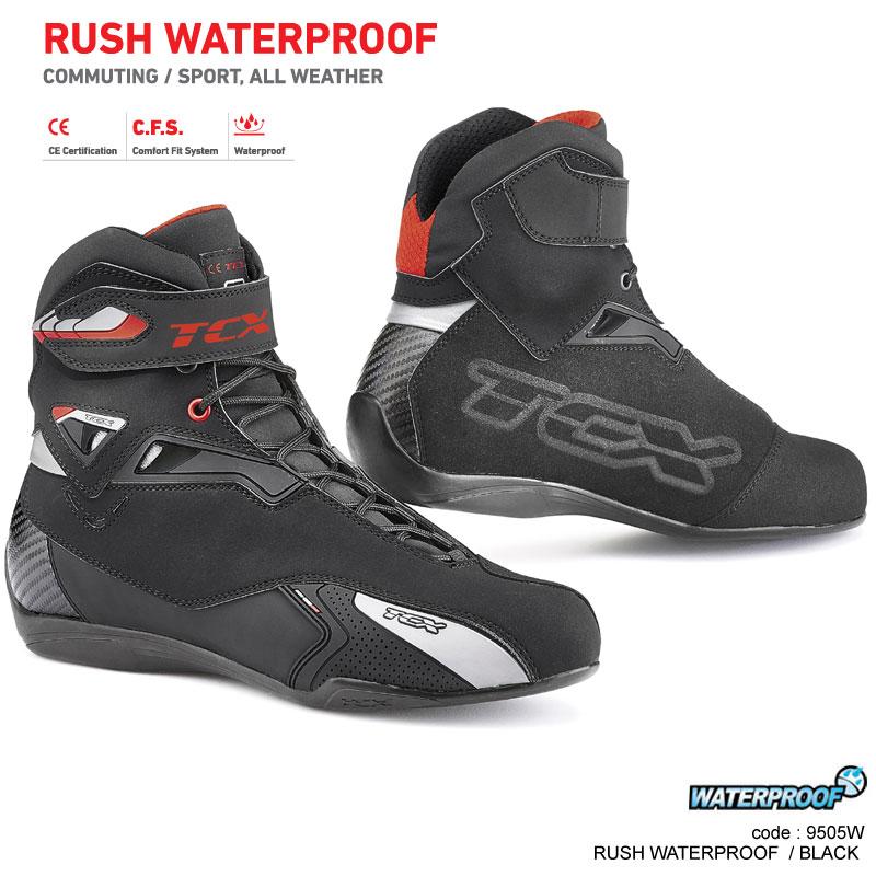 TCX RUSH WATERPROOF BLACK