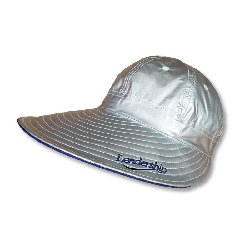 หมวกกันUV กันแดด หมวกกอล์ฟ สีเงิน
