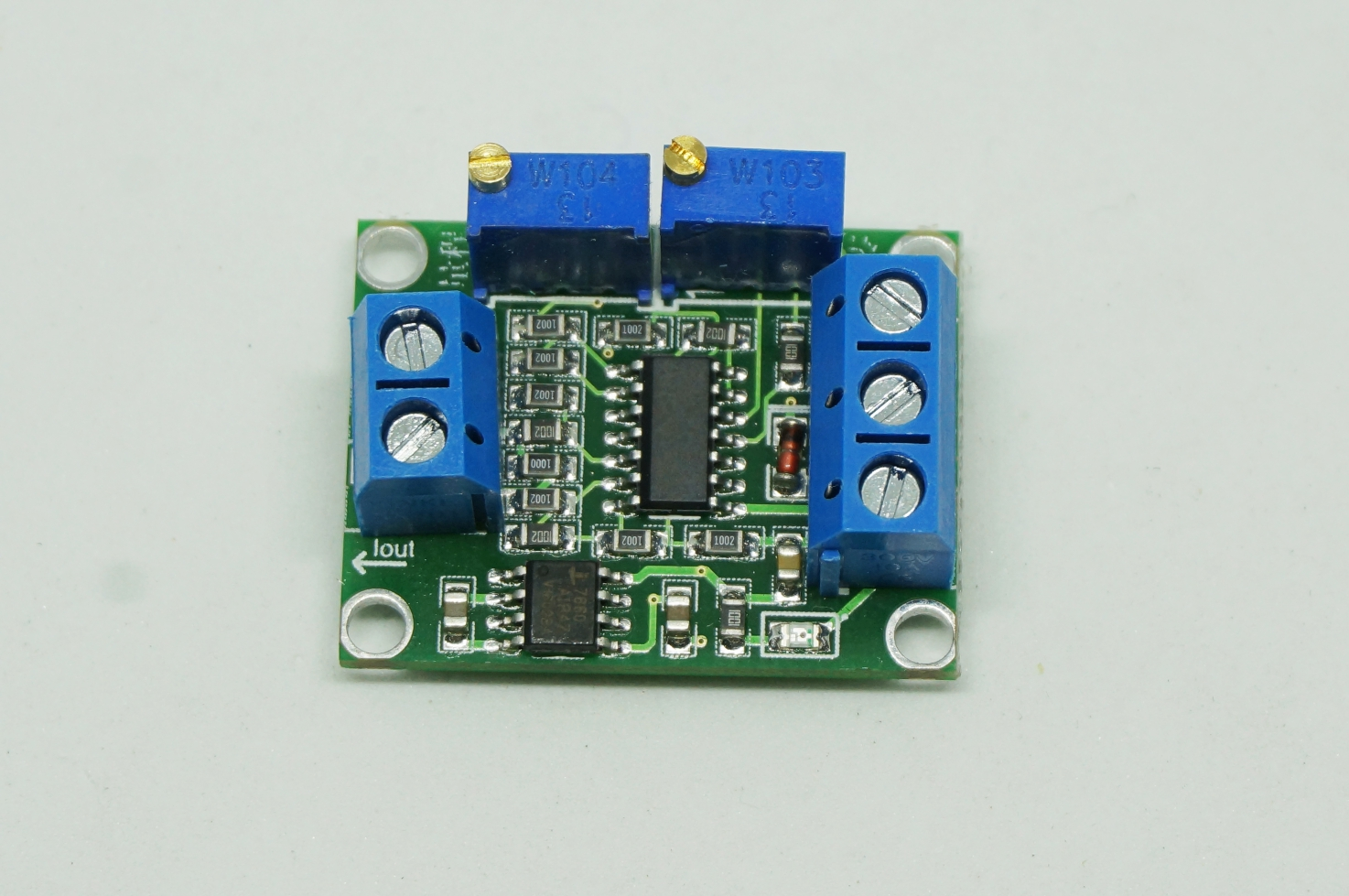 4-20mA to 0-5V Current to Voltage Converter
