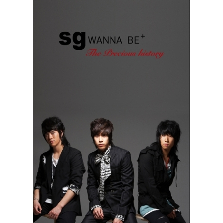 """[PRE-ORDER] SG WANNA BE - Special Edition """"THE PRECIOUS HISTORY"""""""