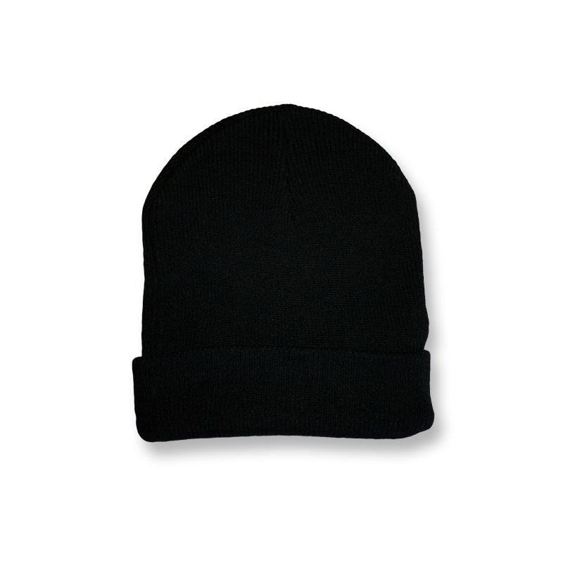 หมวกไหมพรม สไตล์เกาหลี สีดำ