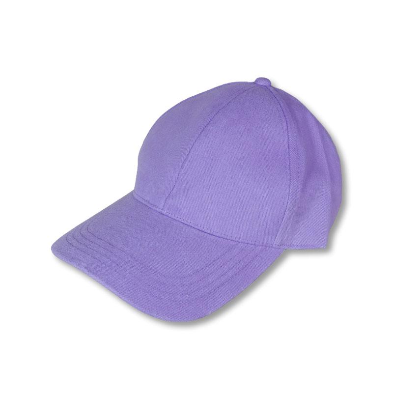 หมวกแก๊ปเปล่า สีพื้น สีม่วงพาสเทล by Season Tales