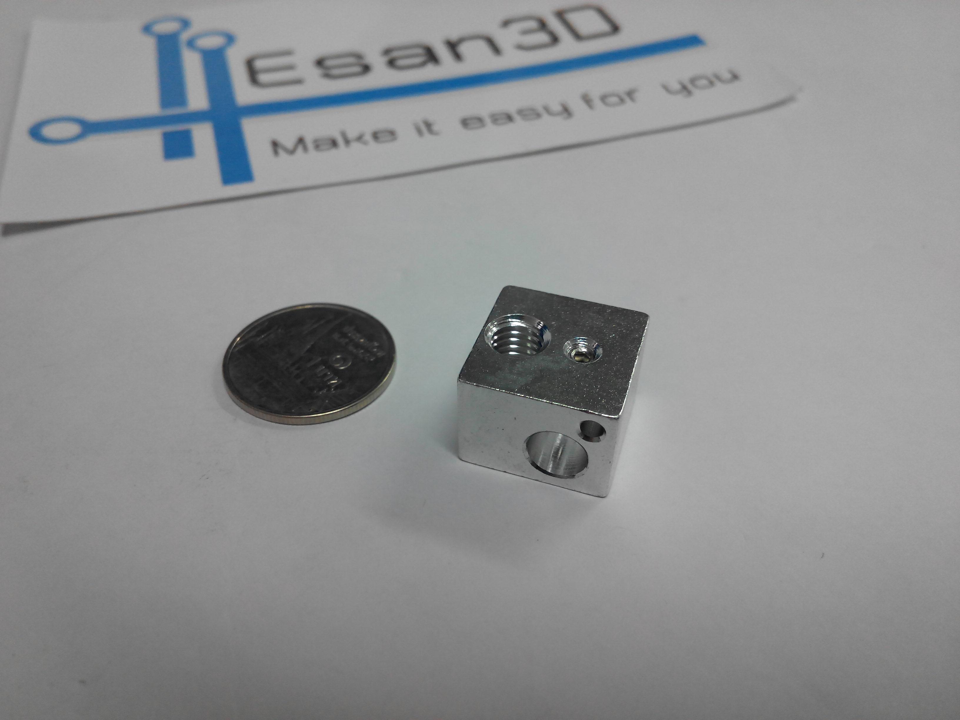 Heating block for 3D printer E3D V5