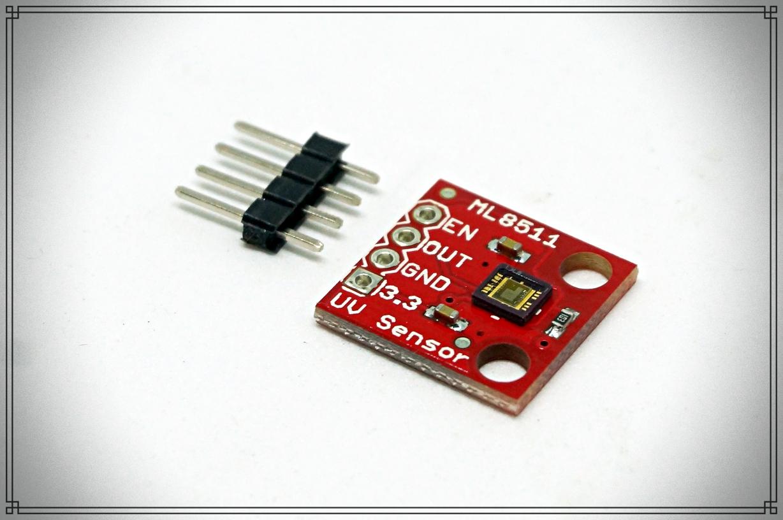 ML8511 UVB Ultraviolet detection module