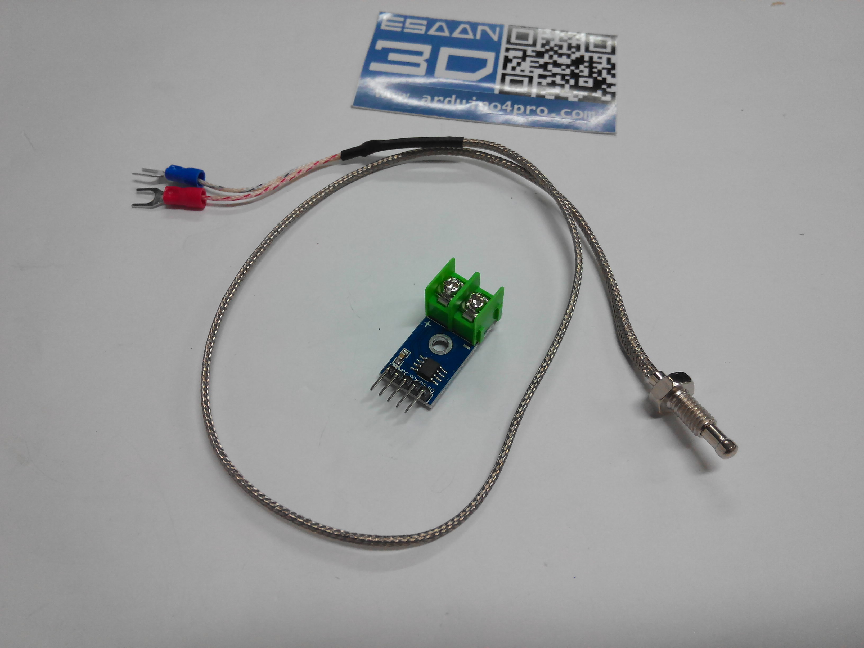 MAX6675 Module + K Type Thermocouple Sensor