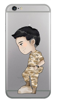"""[PRE-ORDER] Descendants Of The Sun - Jelly Phone Case """"Seo Dae Young"""""""