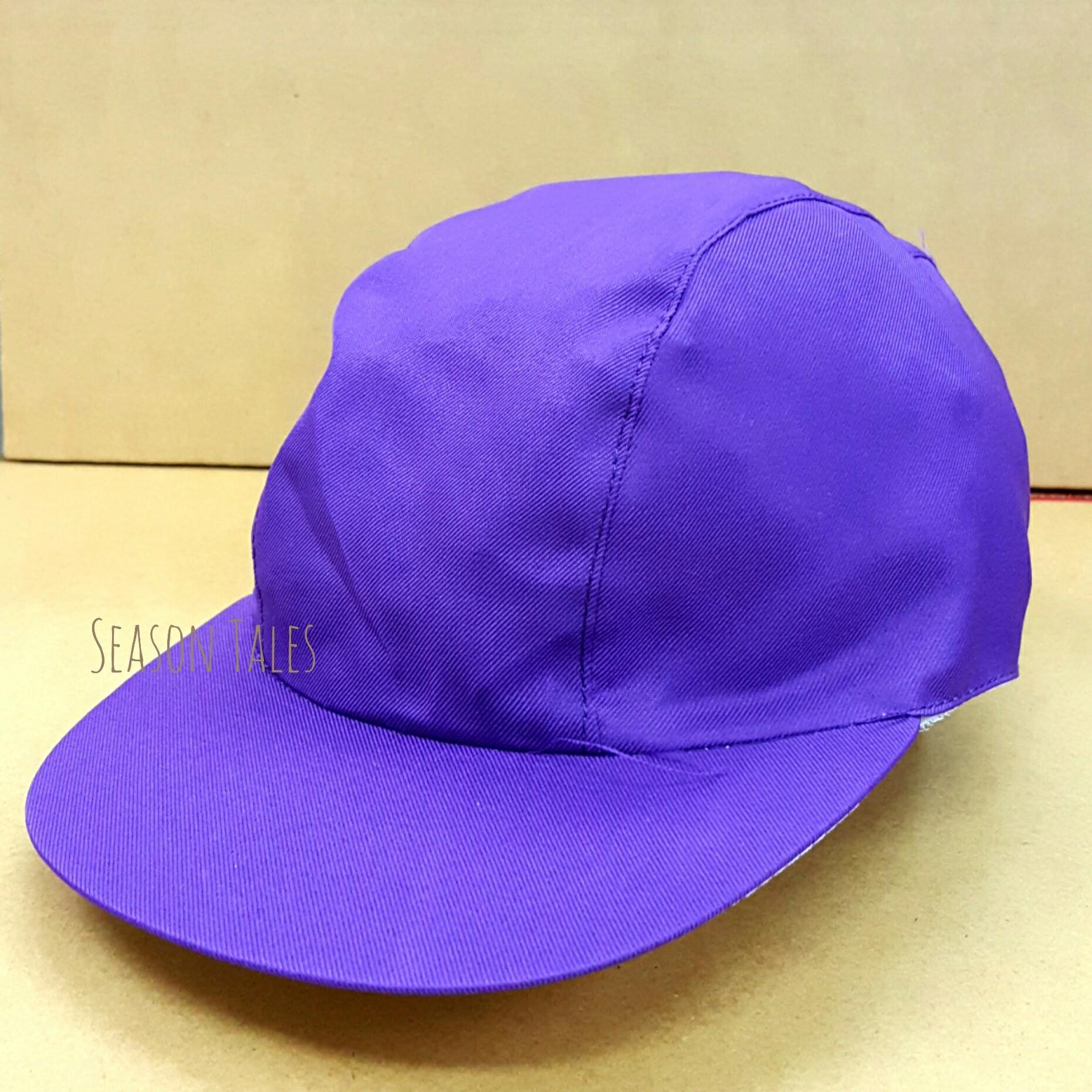 หมวกกีฬาสี สีม่วง ขายส่ง ราคาถูกสุดๆ (สั่งในเว็บไม่ได้ สั่งผ่านLine เท่านั้น)