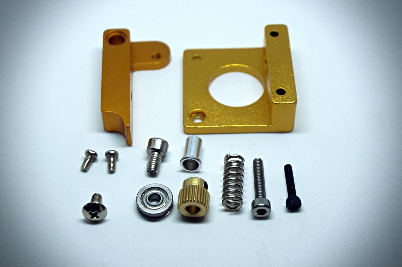 MK8 Aluminum Extruder (Left-hand)