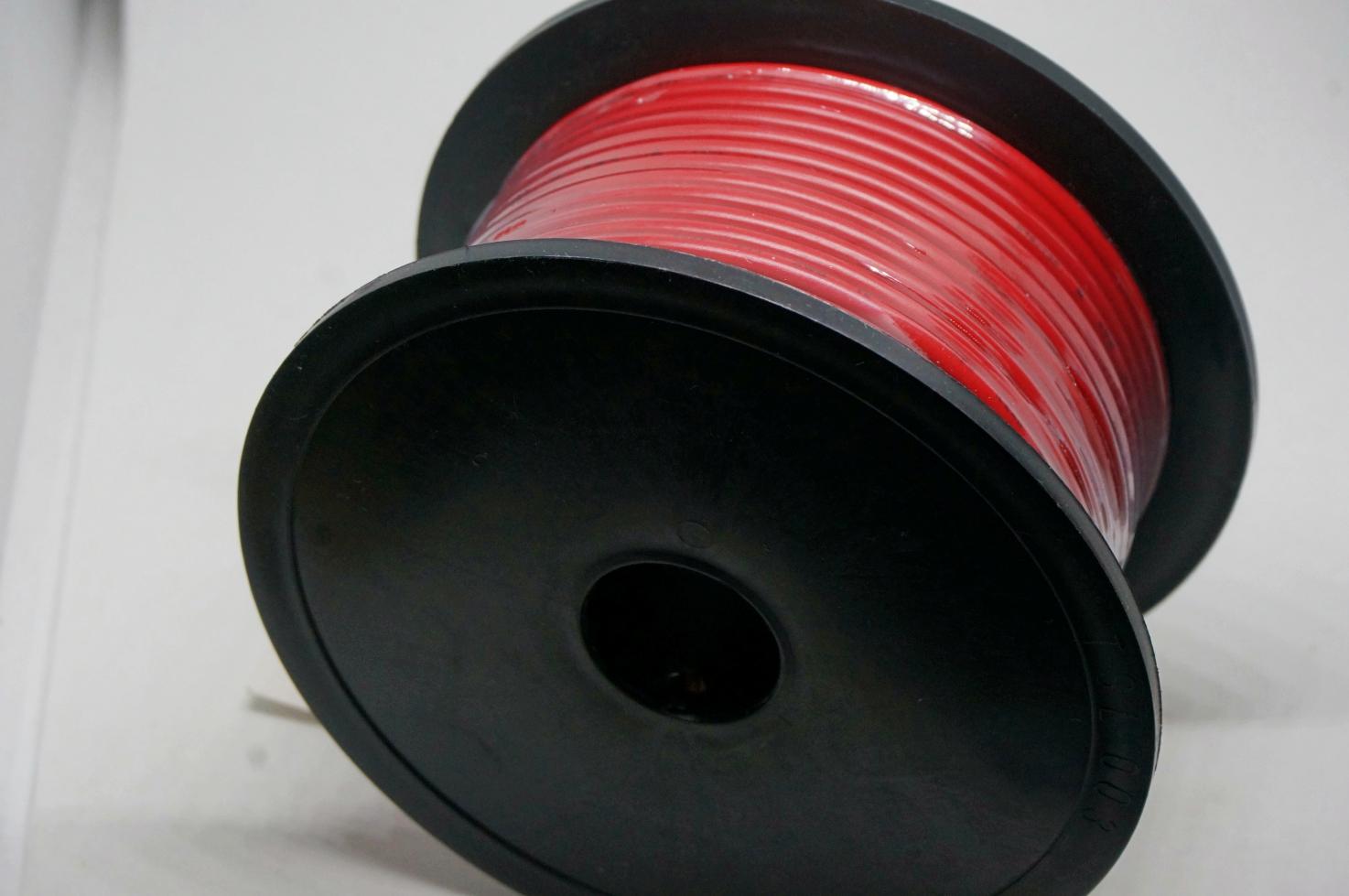 สายไฟสีแดง AWG16 (30m)