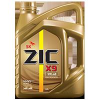 Zic X9 5W40 เบนซิน12,000กิโล ขนาด 1 ลิตร