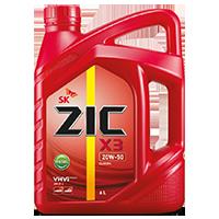 Zic X3 20W50 เบนซิน7,000กิโล ขนาด 1 ลิตร
