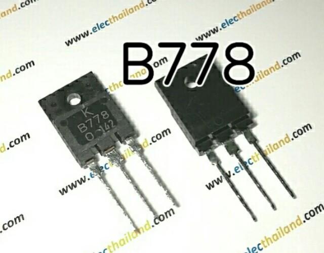 B778 PNP Power Transistor -120V/-10A