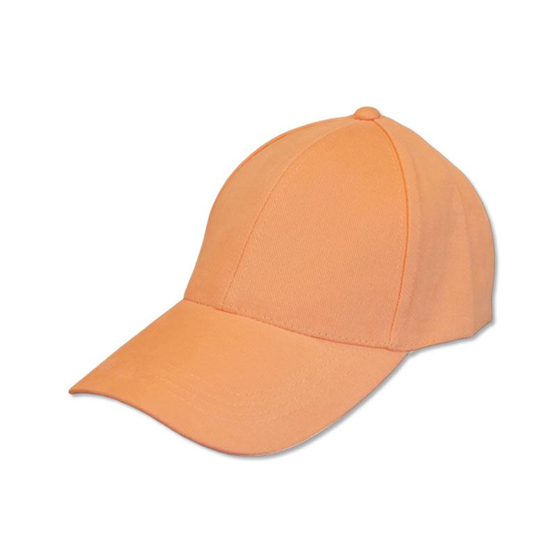 หมวกแก๊ปเปล่า สีพื้น สีส้มโอรส by Season Tales