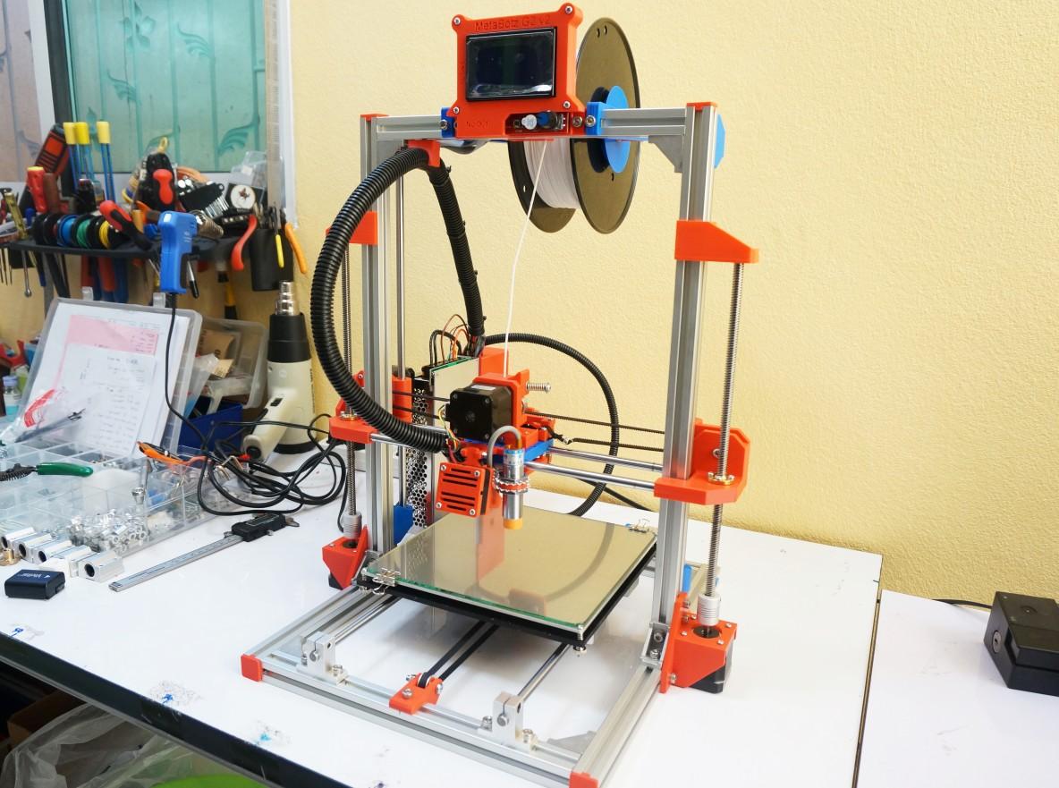 """เครื่องพิมพ์สามมิติ 3D printer """"MetaBotz G2v2"""" รับประกัน 1 ปี"""