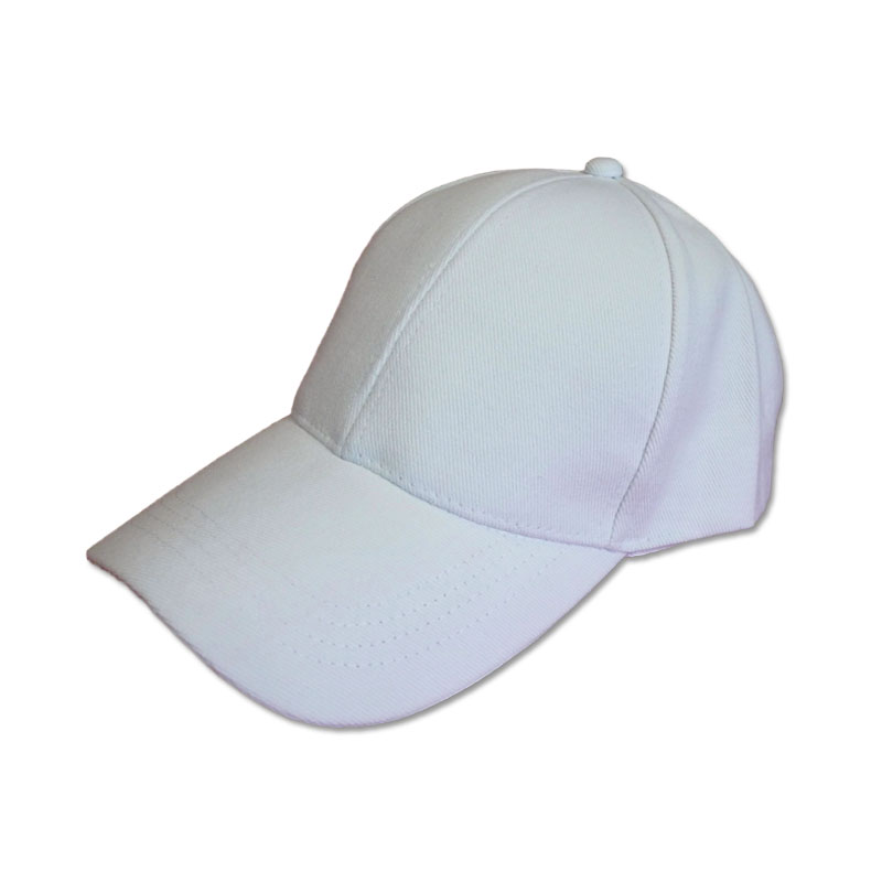 หมวกแก๊ปเปล่า สีพื้น สีขาว by Season Tales