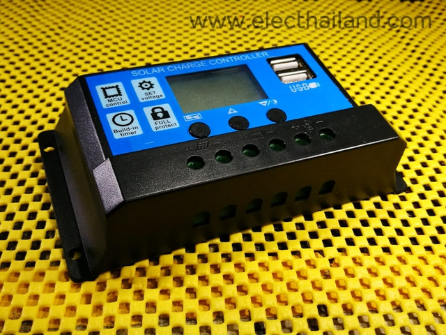 S206:Solar Charger LCD