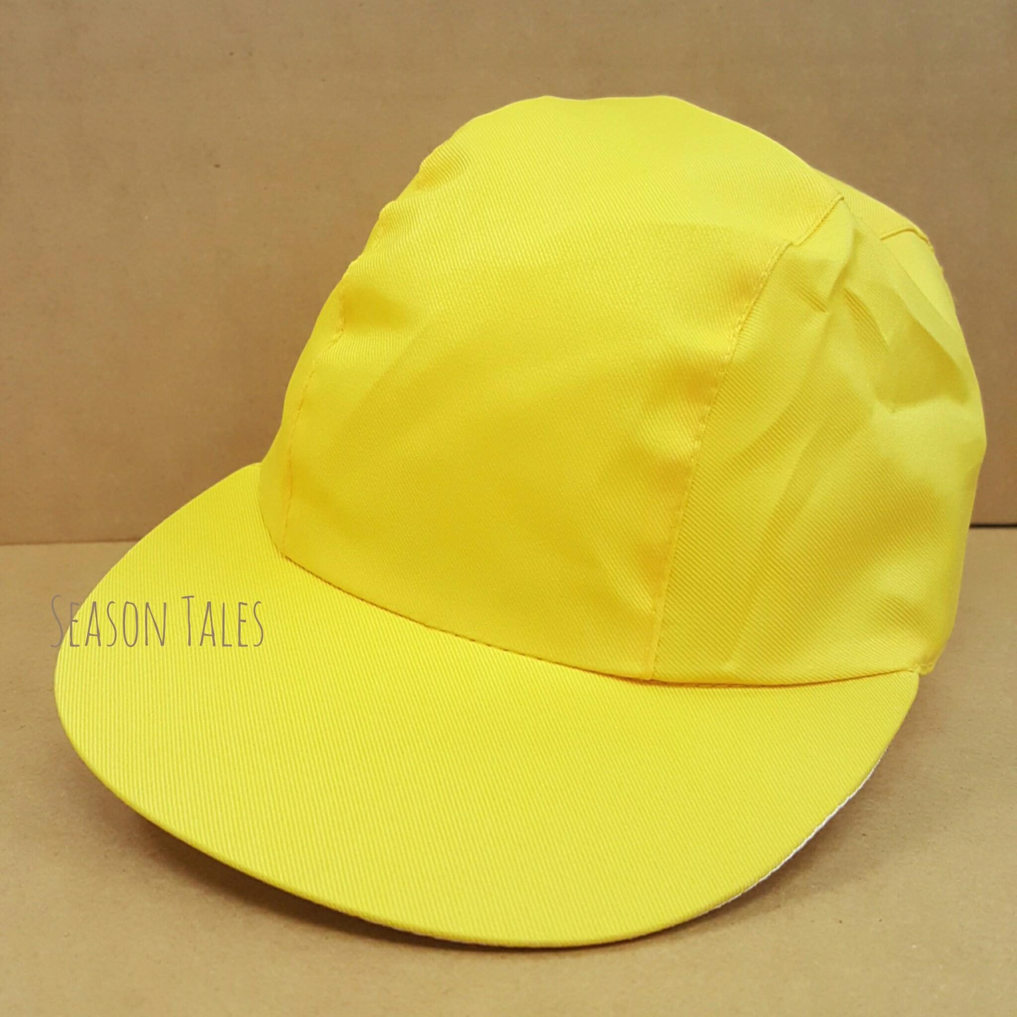 หมวกแก๊ปกีฬาสี สีเหลือง ราคาถูกสุดๆ! (สั่งในเว็บไม่ได้ สั่งผ่านLine เท่านั้น)