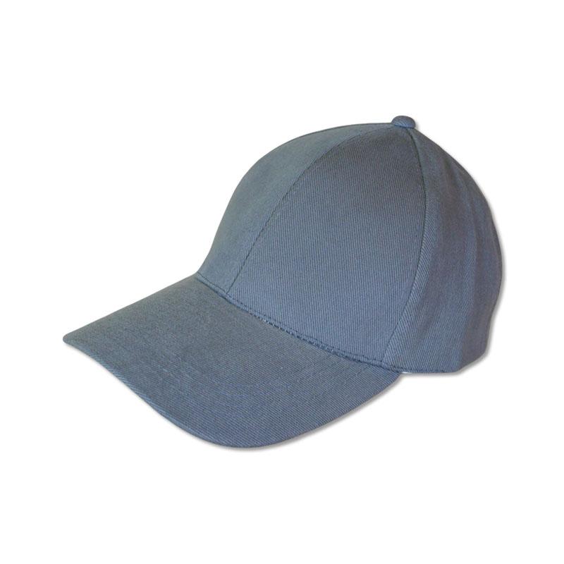 หมวกแก๊ปเปล่า สีพื้น สีเทา by Season Tales