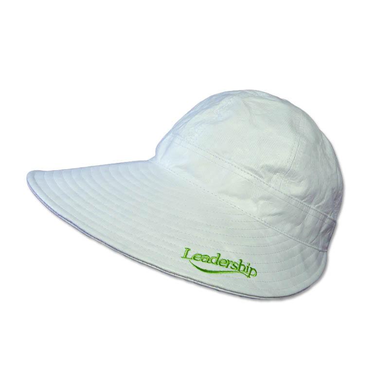 หมวกกอล์ฟ กันUV ผ้าDupont สีขาว