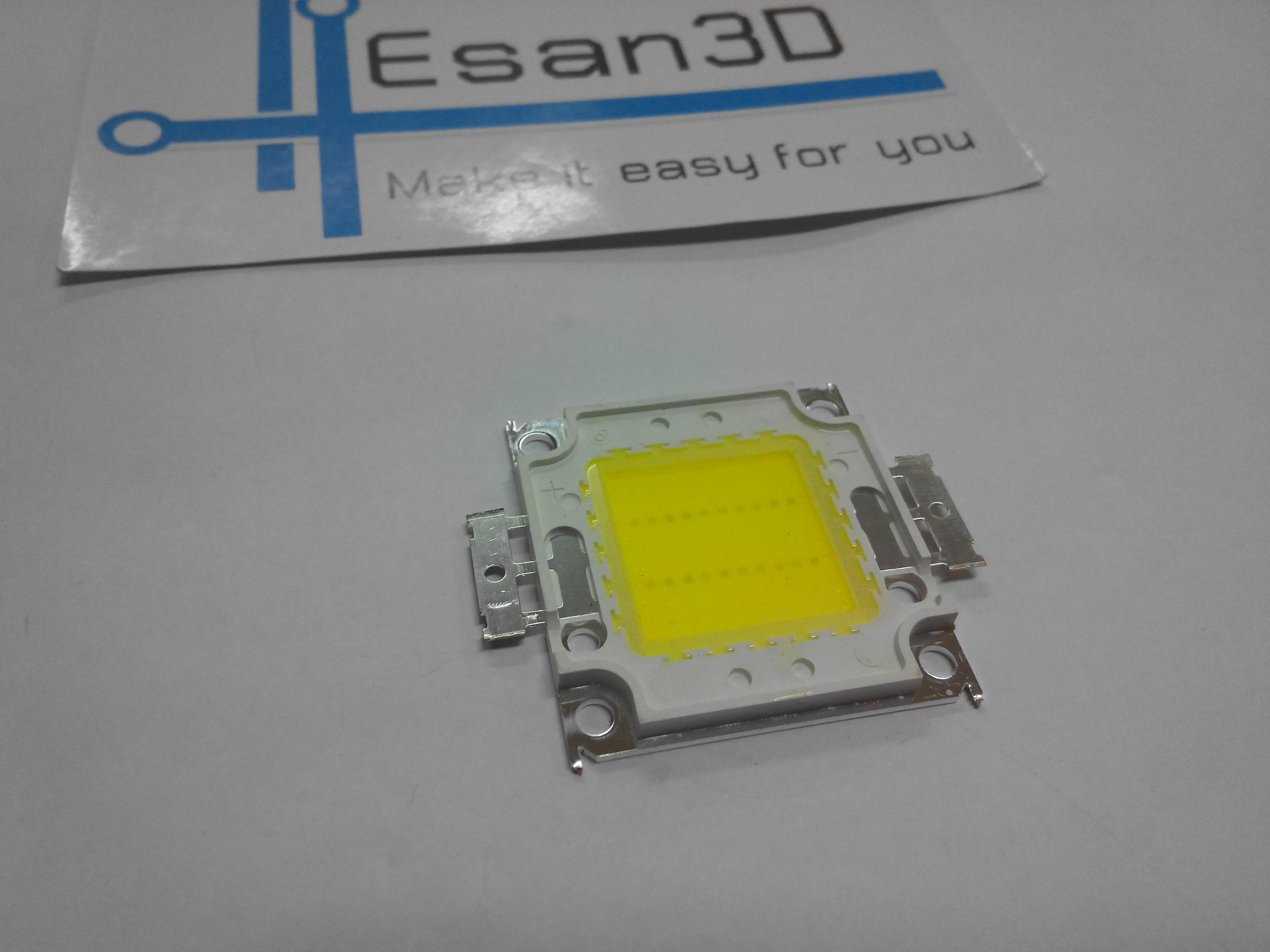 20W High power LED แสงขาว แรงดัน 32-34V อัตราความสว่าง 1600-1800LM