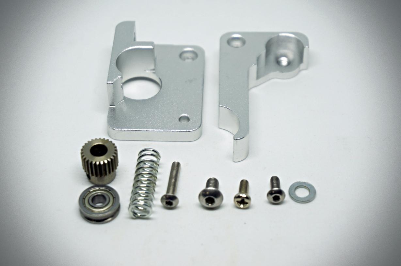 MK10 Aluminium Extruder (Left-hand)
