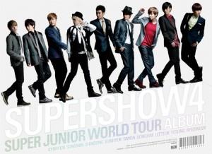 "[PRE-ORDER] Super Junior - 4th World Tour ""Super Show 4"" (Live Album) (3CD)"