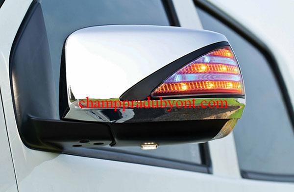ครอบกระจกมองข้างมีไฟ ISUZU ALL NEW D-MAX 11-16 FITT ลายเบนซ์ มีไฟส่องพื้น