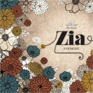 """[PRE-ORDER] Zia - Mini Album """"Anemone"""""""