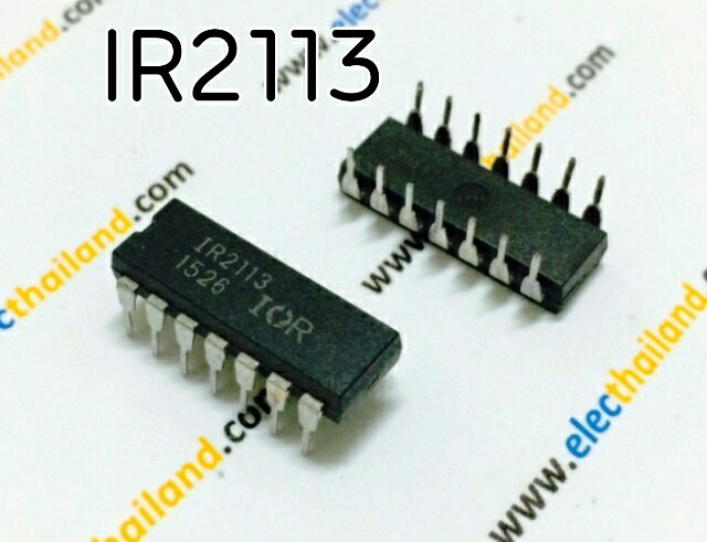 IR2113 high low side driver 2A/650V