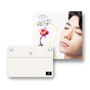"""[PRE-ORDER] Jang Woo Young (2PM) - 1st Single Album """"R.O.S.E"""" + 2PM 2014 World Tour Go Crazy Goods Clutch (Design by Woo Young)"""