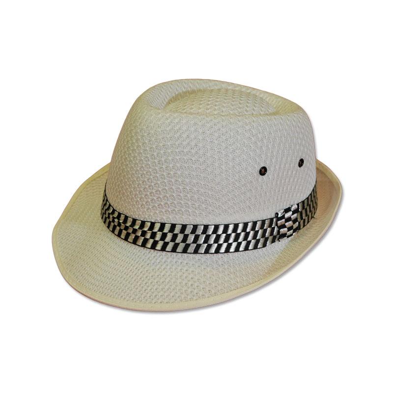 หมวกปานามา ไมเคิล สีขาว (ผู้ใหญ่) by Season Tales