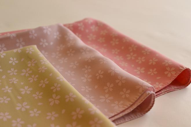 ผ้าห่อเบนโตะ Furoshiki ลายดอก ซากุระ