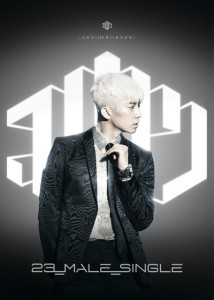 [PRE-ORDER] Jang Woo Young (2PM) - 23,Male,Single (Silver Edition)
