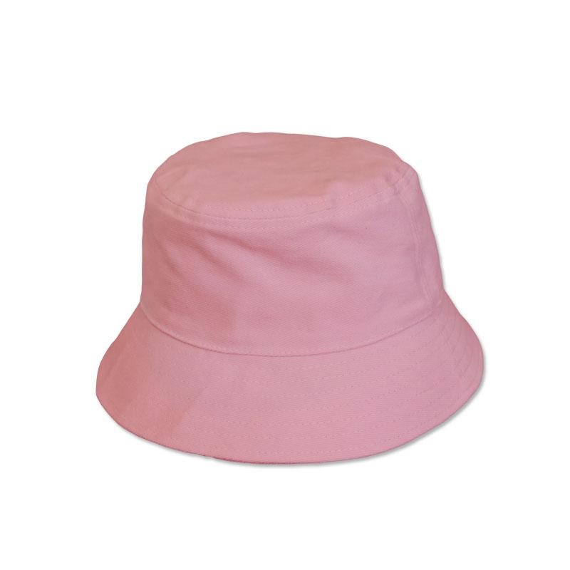หมวก bucket หมวกบักเก็ต สีพื้น (สีชมพู) by Season Tales