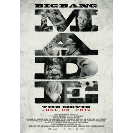 """[PRE-ORDER] BIGBANG - BIGBANG 10 THE MOVIE """"BIGBANG MADE"""" POSTER SET"""